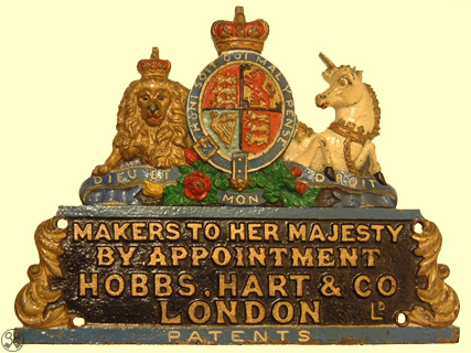 Hobbs, Hart & Co. Decorated Plate