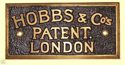 Hobbs & Co's. Patent Plate.
