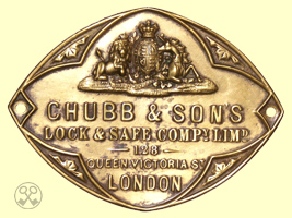 Chubb & Sons Lock & Safe Compy. Limd. Plate.