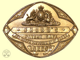 Chubb's Patent Safe Plate